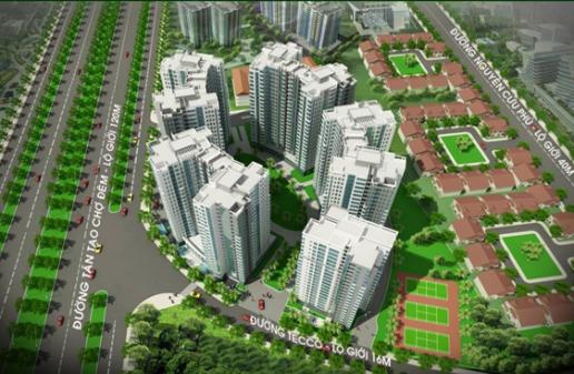 DỰ ÁN TECCO TOWN TÂN TẠO, BÌNH TÂN, TP HỒ CHÍ MINH